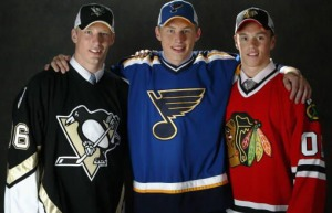 Jordan Staal, Erik Johnson and Jonathan Toews were the top 3 selections in the 2006 NHL Draft. Eight years later, how would you draft them?