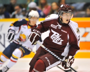 Nick Ritchie sits number one on some scouts lists so don't be surprised to see him drafted higher than expected (OHL Images)